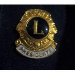 Pin Lions presidente