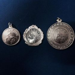 Medalla Karate