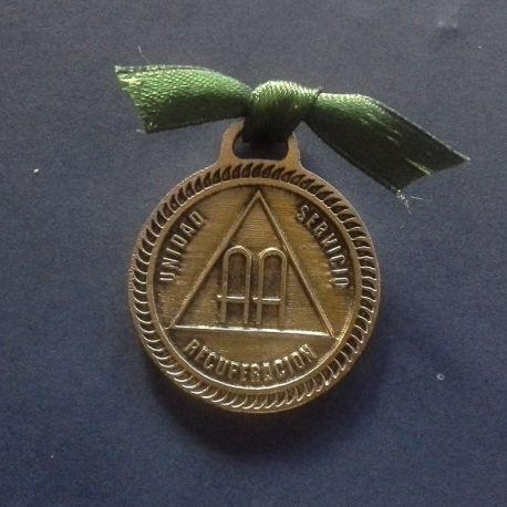 Medalla Alcohólicos Anónimos