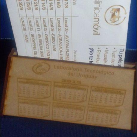 Calendario en MDF