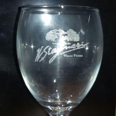 Grabado en copas vidrio