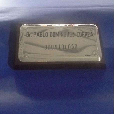 Placa Profesional Bombe
