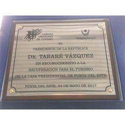 CUADRO MADERA CON CHAPA ACERO