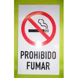 Cartel sintra prohibido fumar